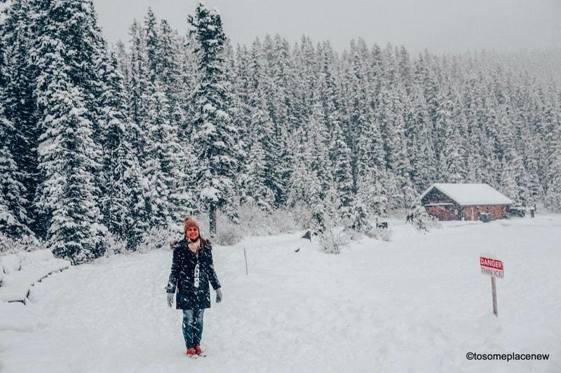 Lake Louise in November