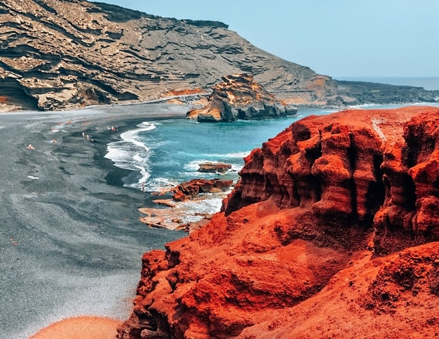 Lanzarote - Canary Islands Warmest places in Europe in December