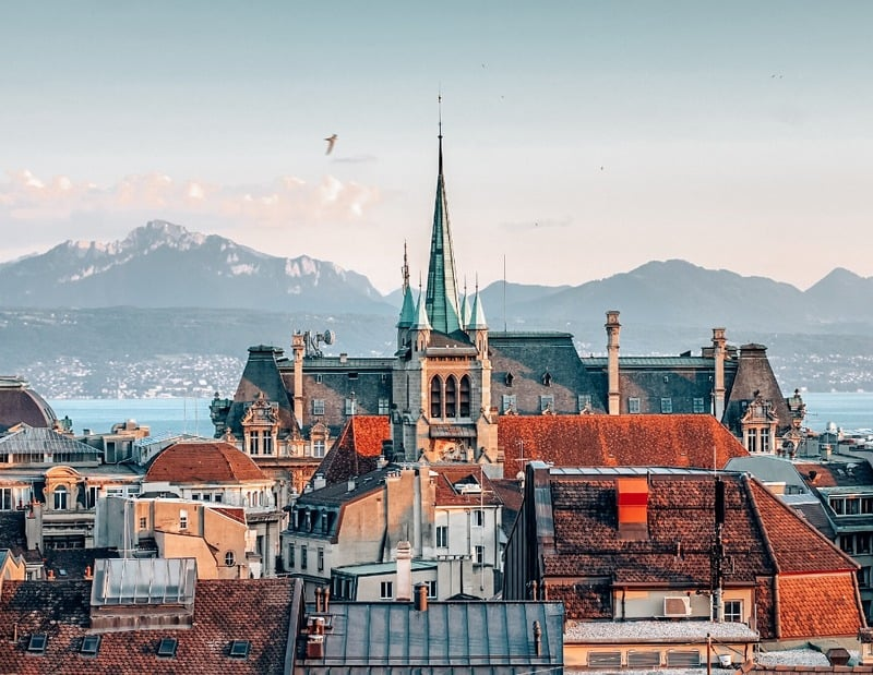 Lausanne - Most beautiful places in Switzerland
