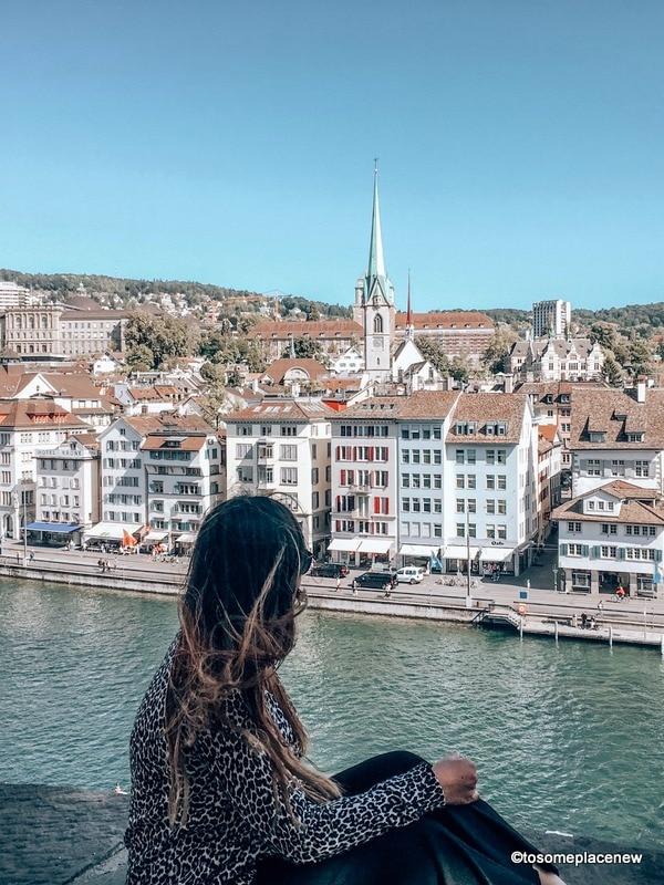 Lindenhof Hill and Zurich Views