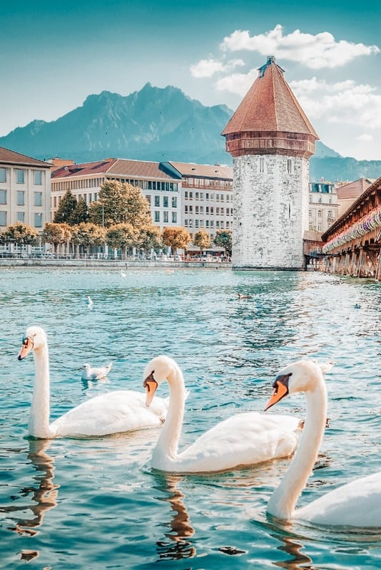 Lucerne - Most beautiful places in Switzerland