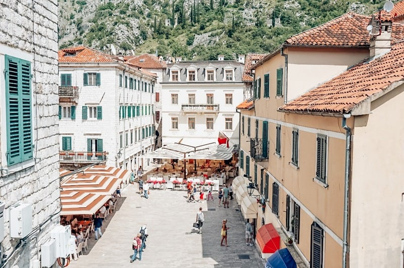 Old Town Kotor - Warm places in Europe in February