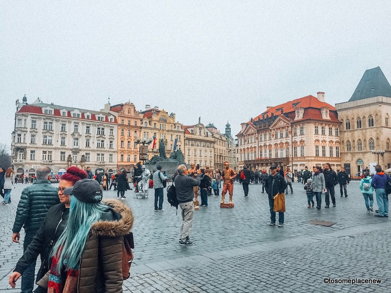 Old Town Prague in March