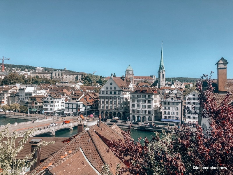 Old Town in 2 days in Zurich Itinerary - the largest city in Switzerland