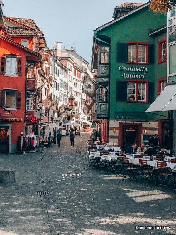 Old town lanes Zurich in 2 days