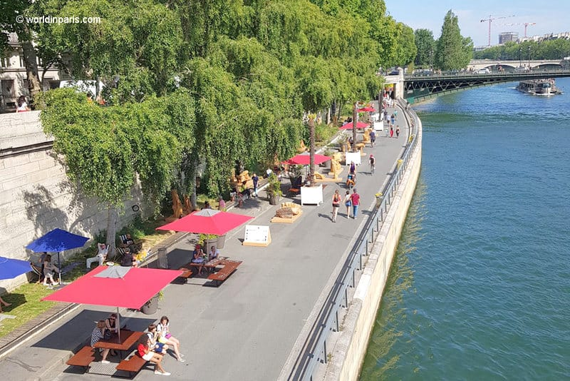 Paris Plages in July
