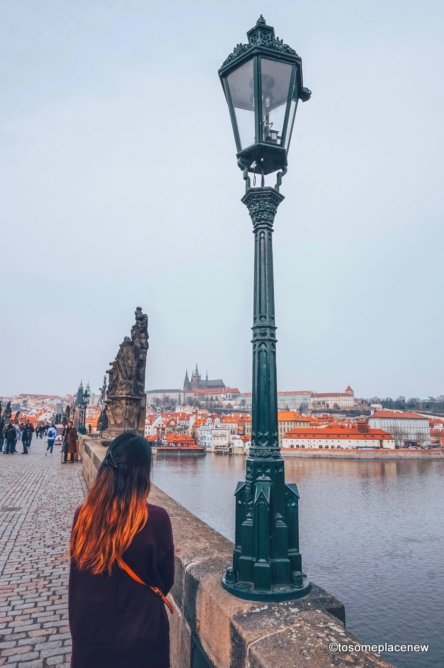 Views of Prague in March