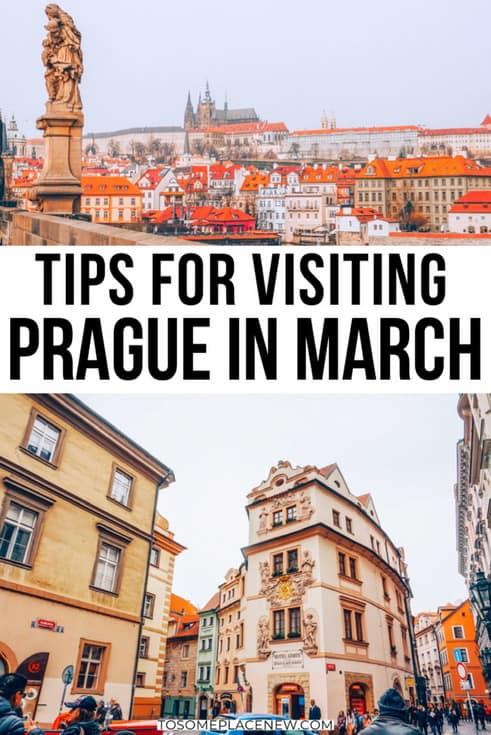 Prague in March