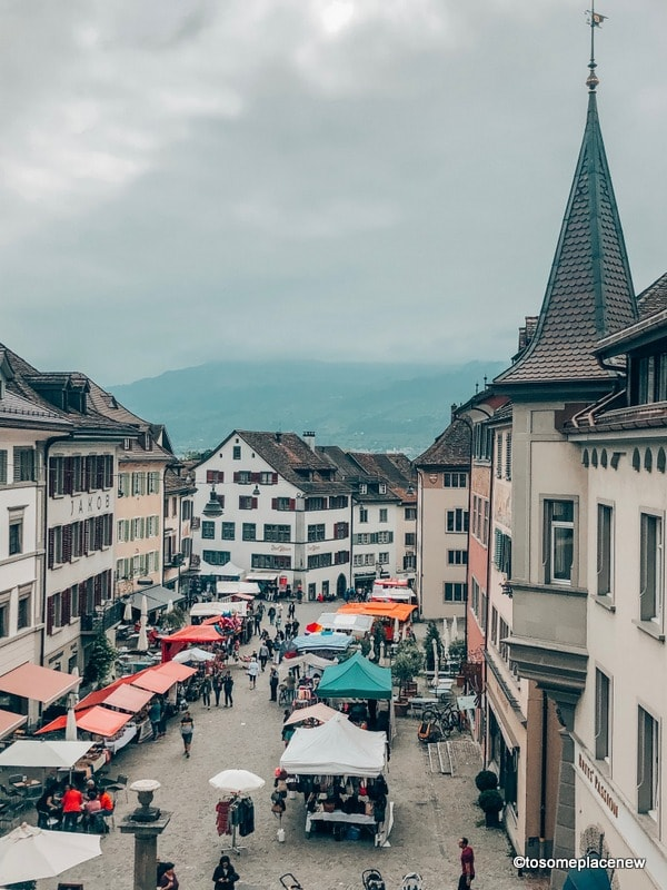 Rapperswil views Zurich Itinerary 2 days