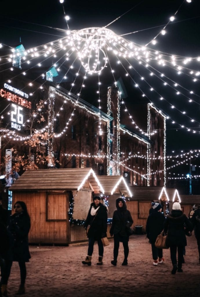 Toronto in December Christmas
