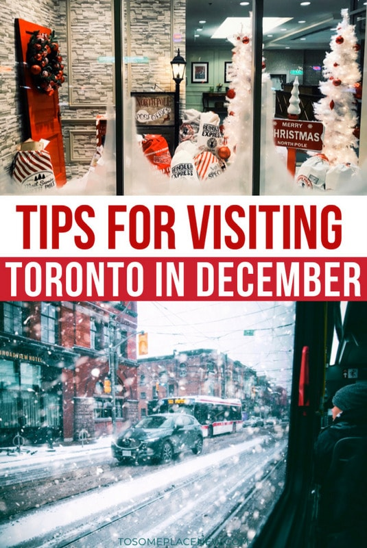 Toronto in December guide