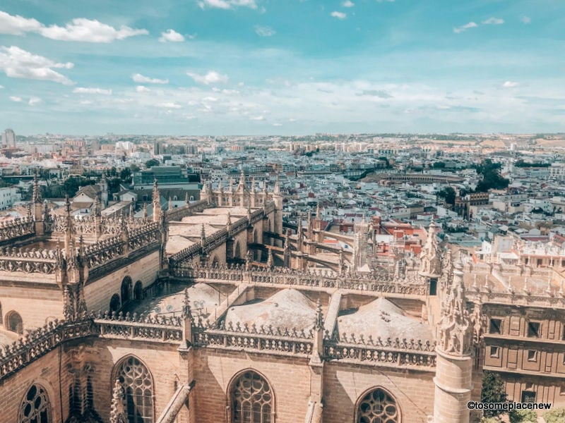 Views from the Cathedral in things to do in Seville