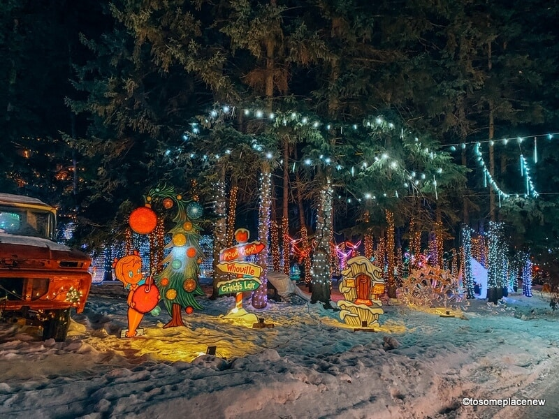 Winter Wander Village Edmonton