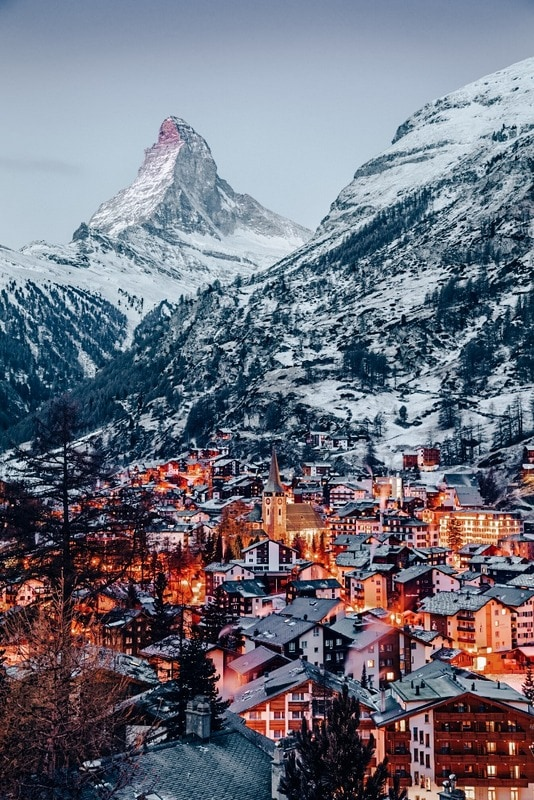 Zermatt in 7 days in Switzerland Itinerary
