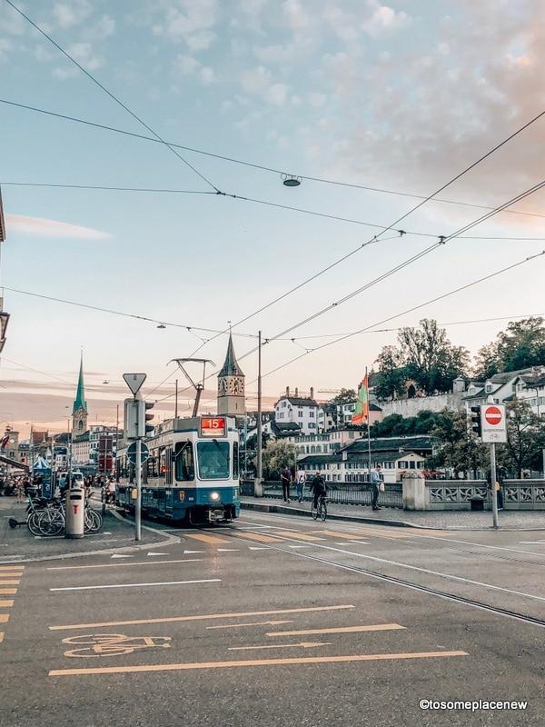 Zurich Tram in 2 days in Zurich Itinerary