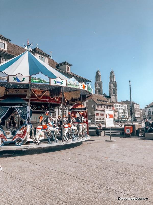 Zurich Views in 2 days on Zurich itinerary