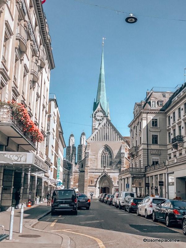 Zurich old town and church lanes Zurich Itinerary 2 days