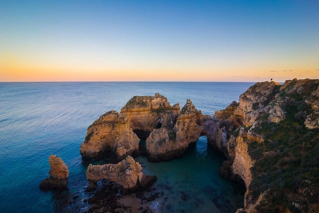 algarve-portugal - Winter sun in Europe