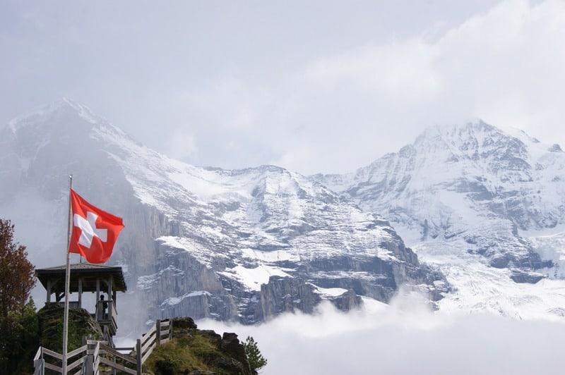 Interlaken & Jungfrau in February