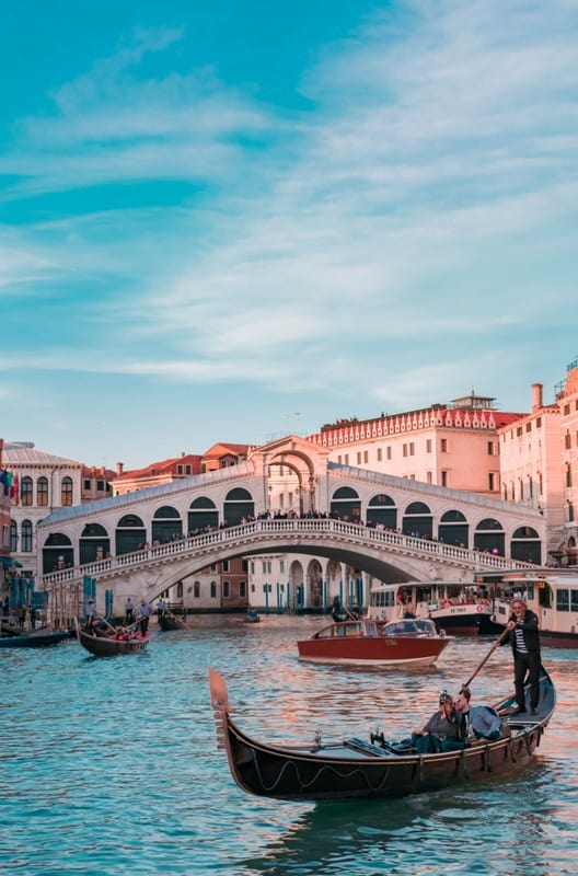 Venice in February Europe by