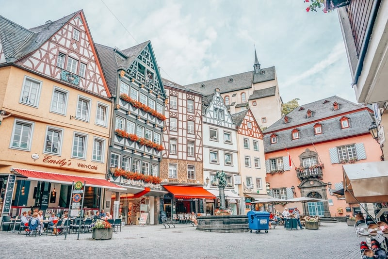 Cochem Beautiful Places in Germany
