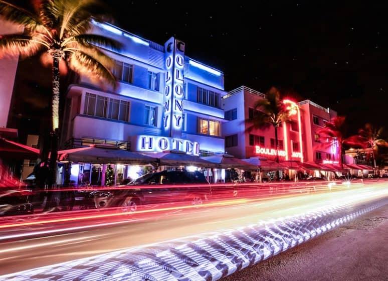 Art Deco Nights Miami USA