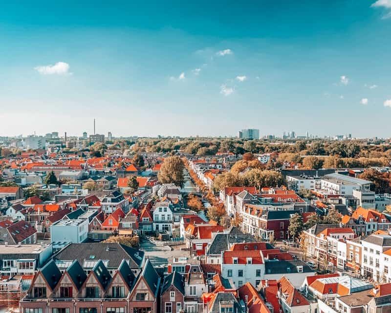 Delft cities near Amsterdam