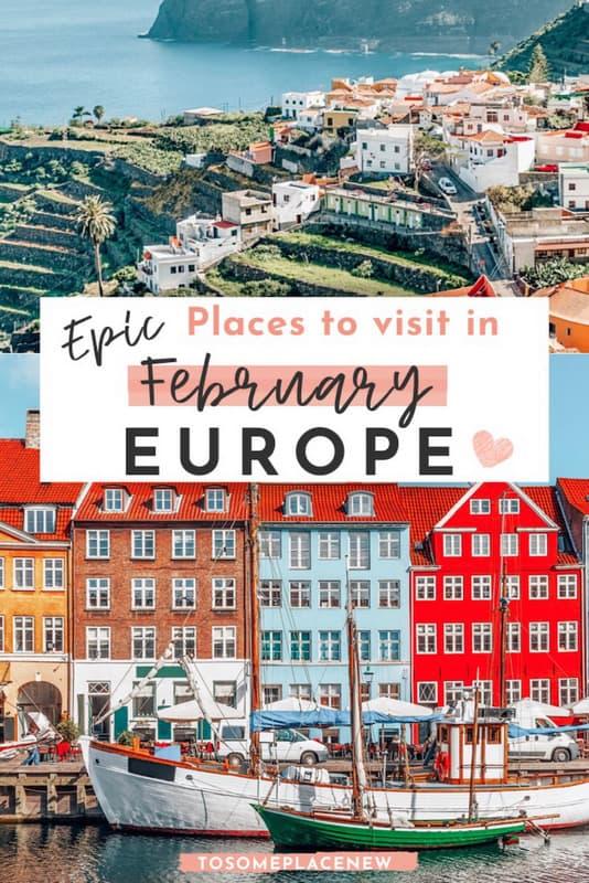 Europe in February