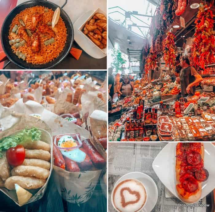 Food in Barcelona Travel Tips
