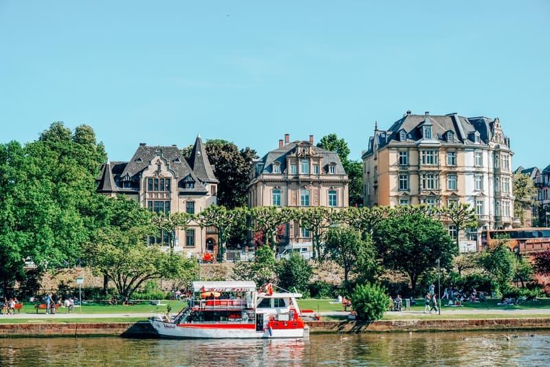 Frankfurt Most beautiful cities in Germany