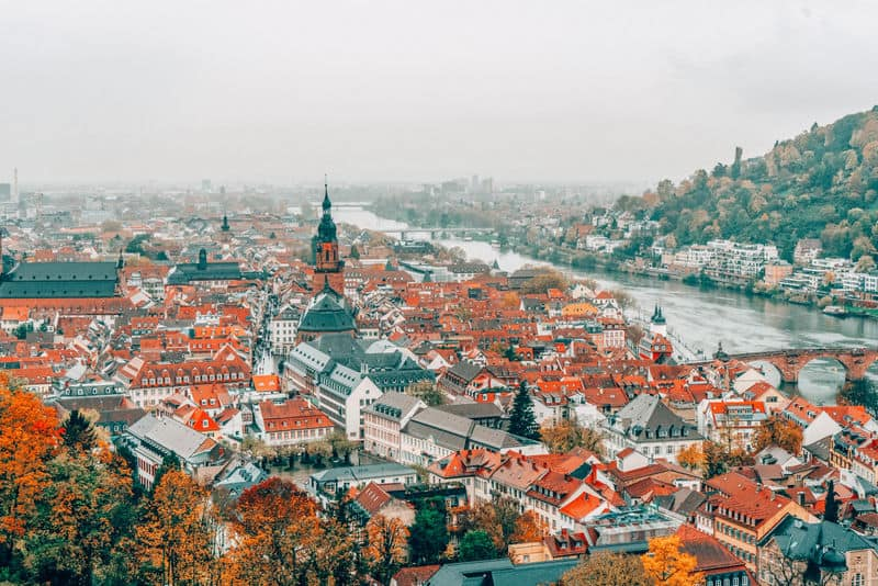 Heidelberg Most beautiful towns in Germany