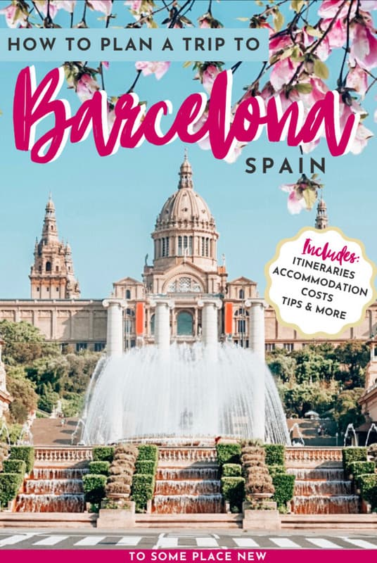 How many days in Barcelona Trip Planner