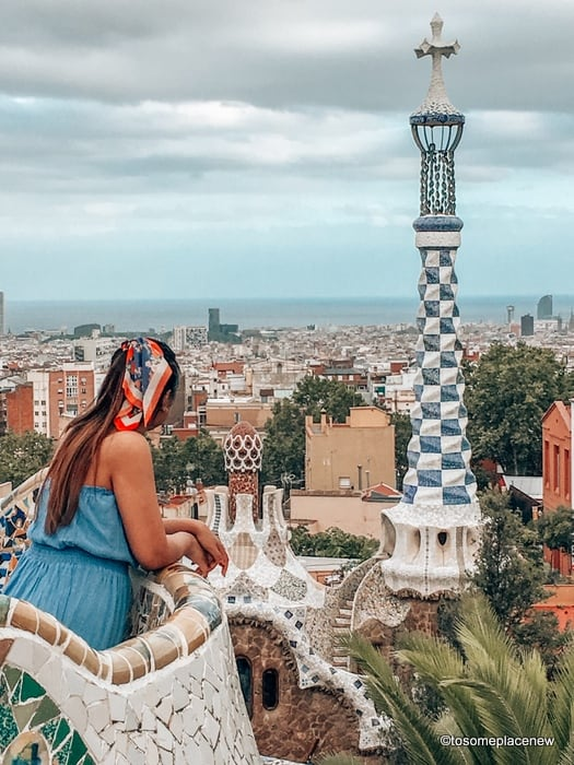Park Guell Views
