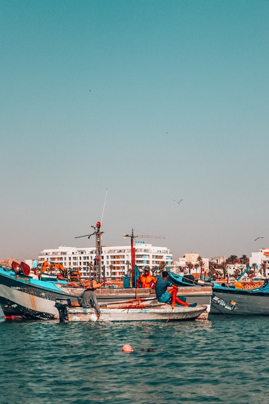 Port of Morocco - Take a ferry from Spain to Morocco for a day trip or longer stay