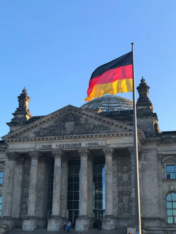 Reichstag Best places to visit in Germany in winter