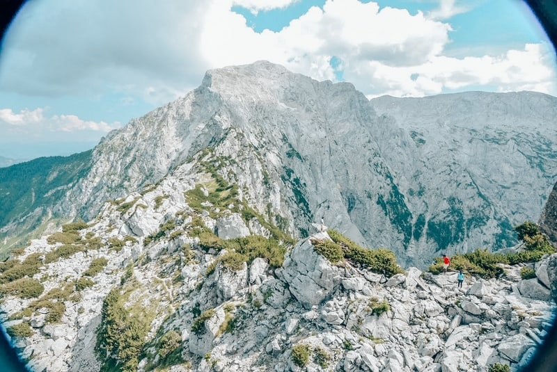 Rock hiking on Hitler's Eagle Nest