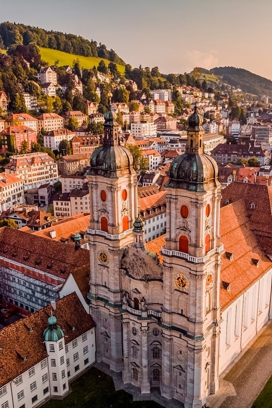 St Gallen is one of the best places to visit in Switzerland