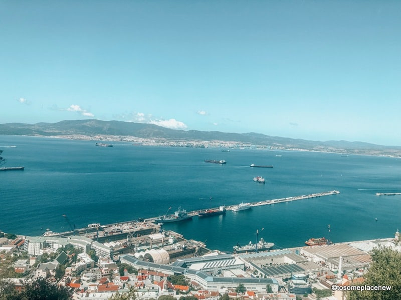 Strait of Gibraltar Ferry from Spain to Morocco