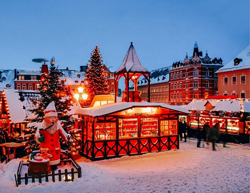 Stuttgart Christmas - Best places to visit in Germany in winter
