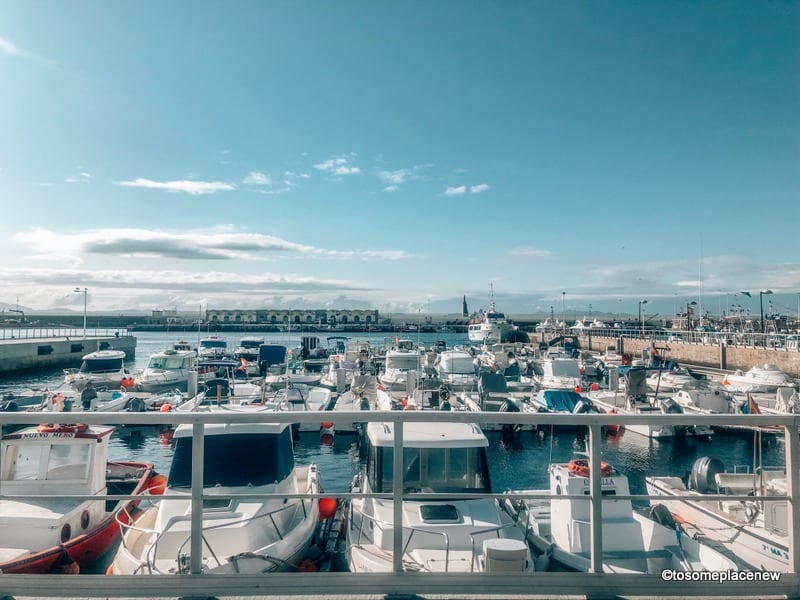 Tanger Port - taking a ferry from Spain to Morocco