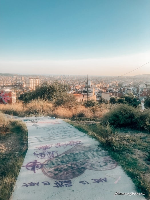 The Bunkers Trails - Barcelona Tips