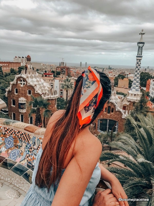 Views of Park Guell - 2 days in Barcelona Itinerary