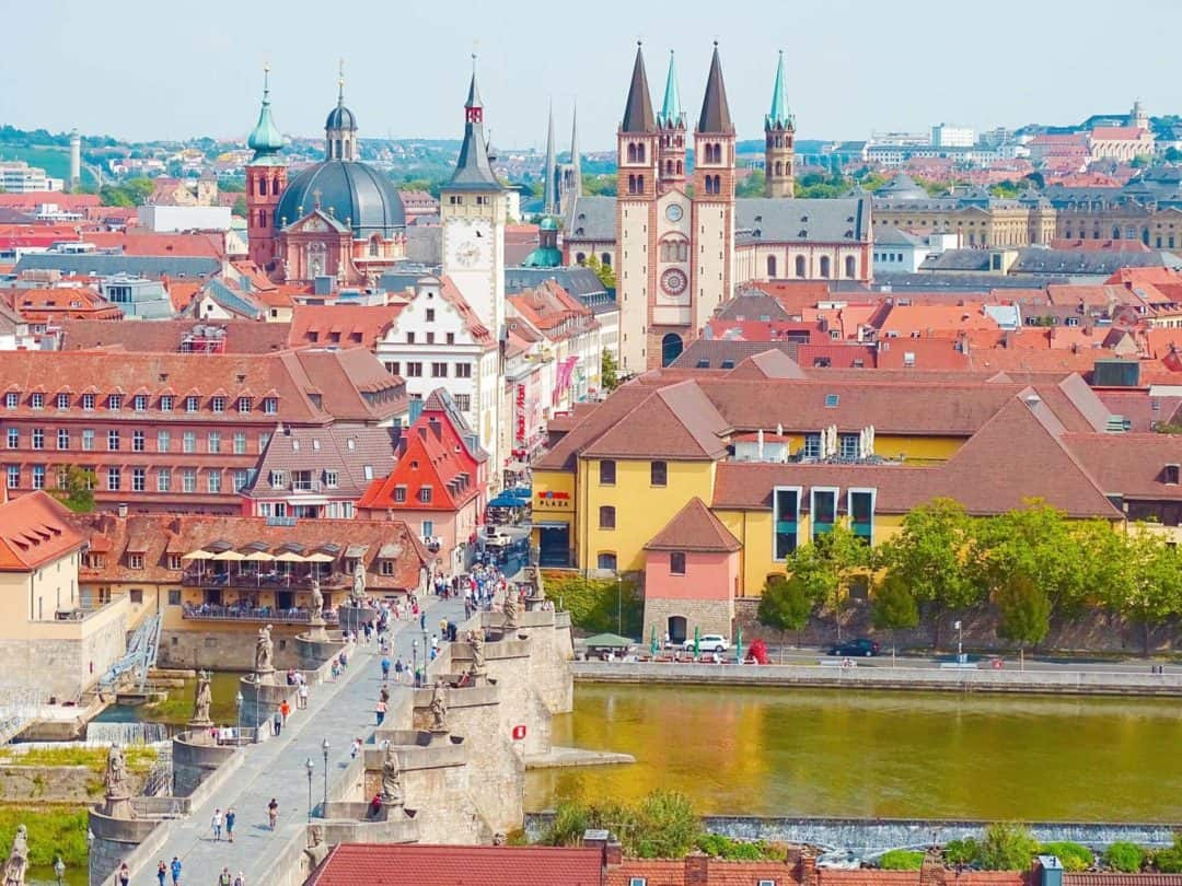Würzburg Most beautiful cities to visit in Germany