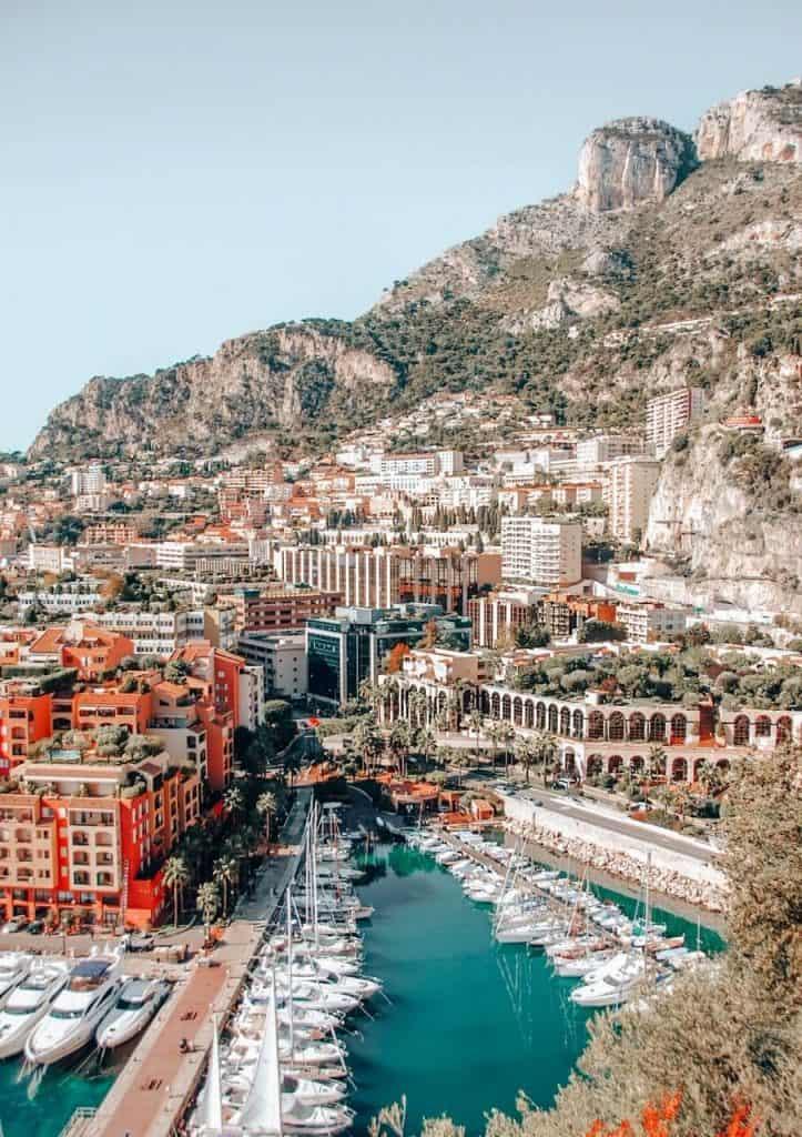 Monte Carlo Monaco warm places in Europe in December