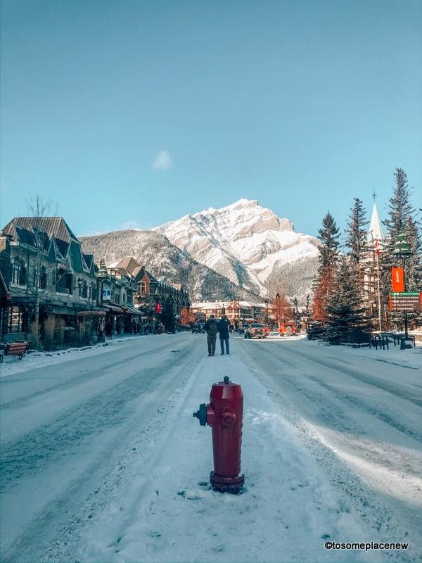 Banff Town - Hydrant