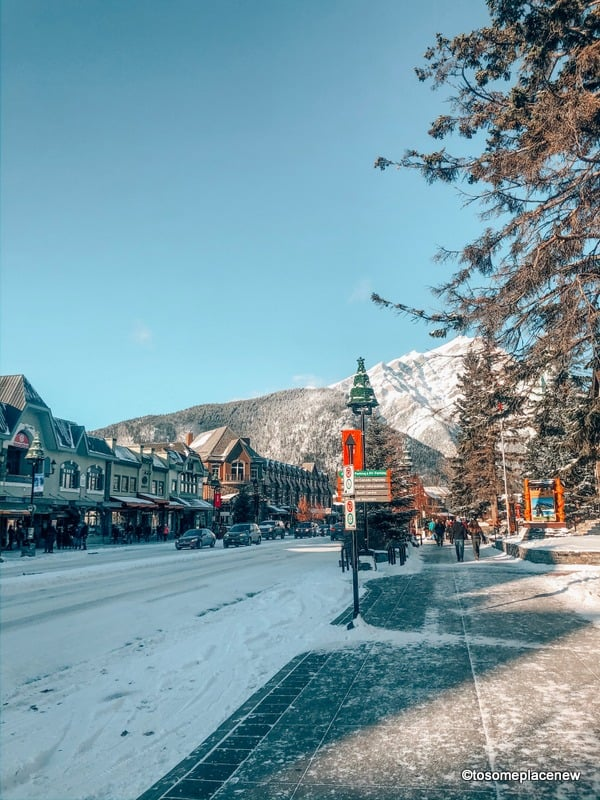 Banff photography in Banff town