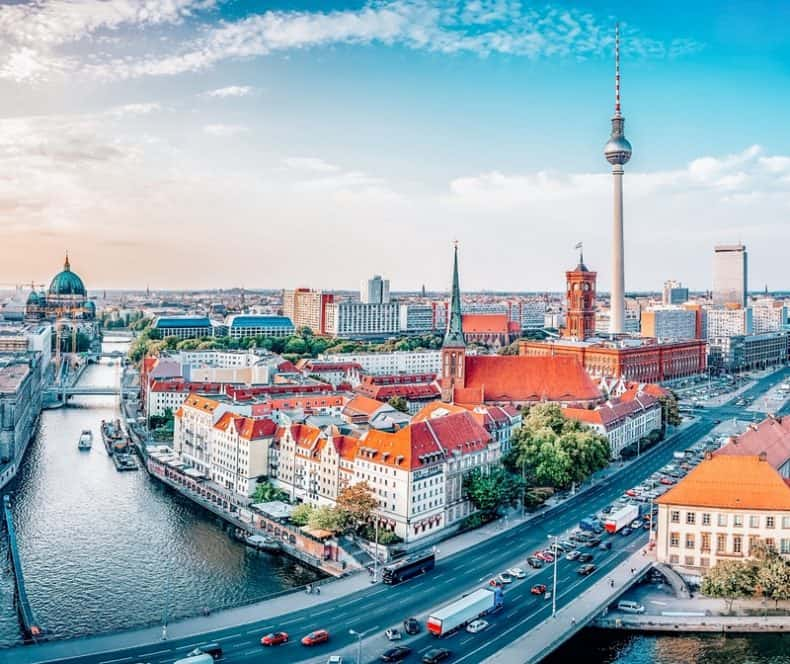 Berlin - Most beautiful cities in Germany