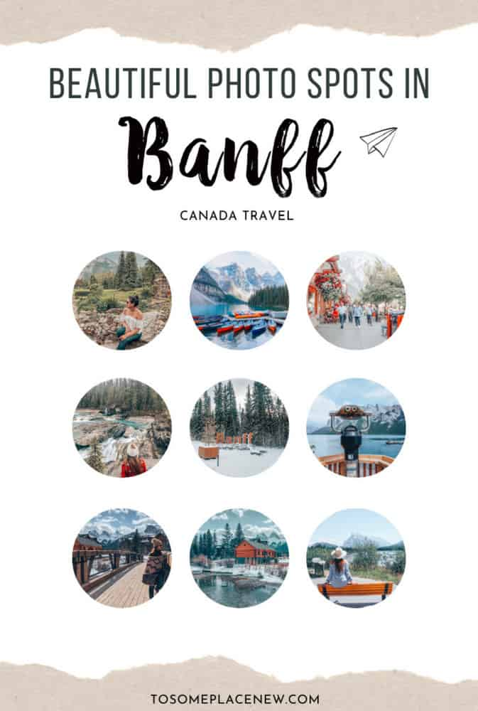 Best photo spots in Banff photography tips