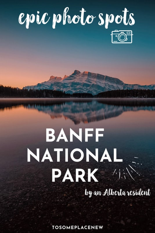 Best photography spots in Banff