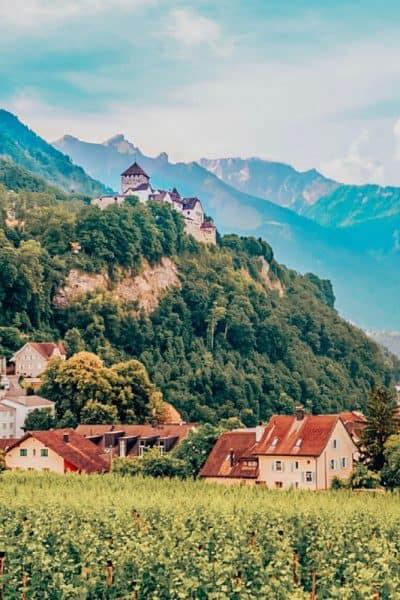 Burg Gutenberg and many interesting facts about Liechtenstein fun facts